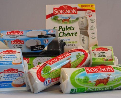 Forskellige Soignon-gedeoste