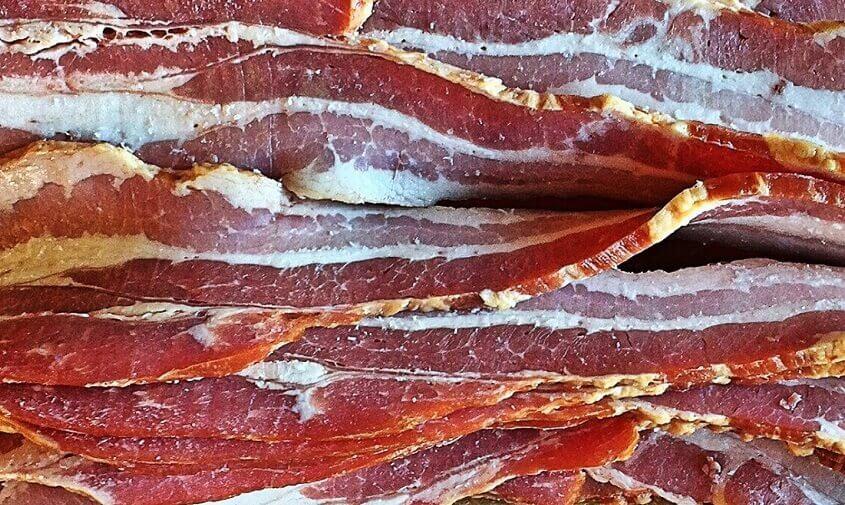 Bacon til en lækker tærte med bacon