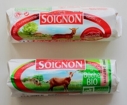 Soignon's gederuller, konventionel og økologisk