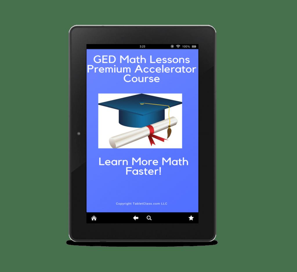Ged Math Chapter 4 Simplifying Algebraic Expressions