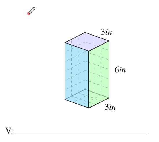Como encontrar el volumen de un cubo para el examen de ged o HIgh school Diploma.