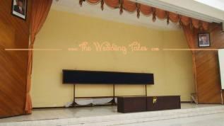 panggung permanen rendah polda gedung pernikahan surabaya