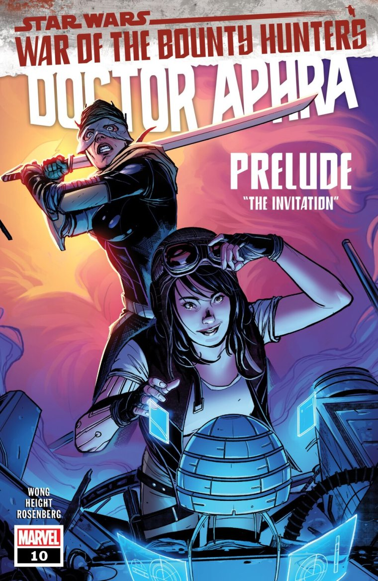 STAR WARS: DOCTOR APHRA #10  Written by ALYSSA WONG  Art by RAY-ANTHONY HEIGHT  Cover by SWAY  On Sale 5/26