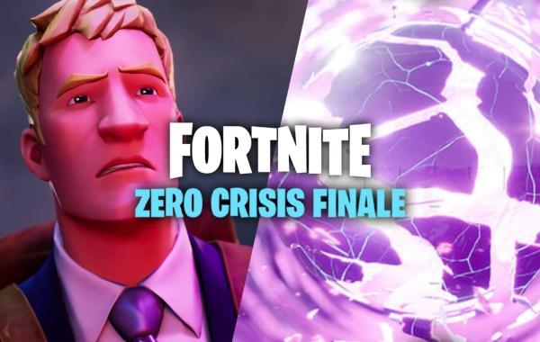 Fortnite Season 6 Zero Crisis Finale Event