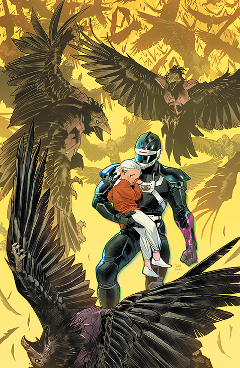 PowerRangers Unlimited EdgeDarkness 001 Cover A Main