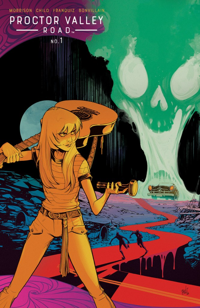 ProctorValleyRoad 001 Cover B Variant