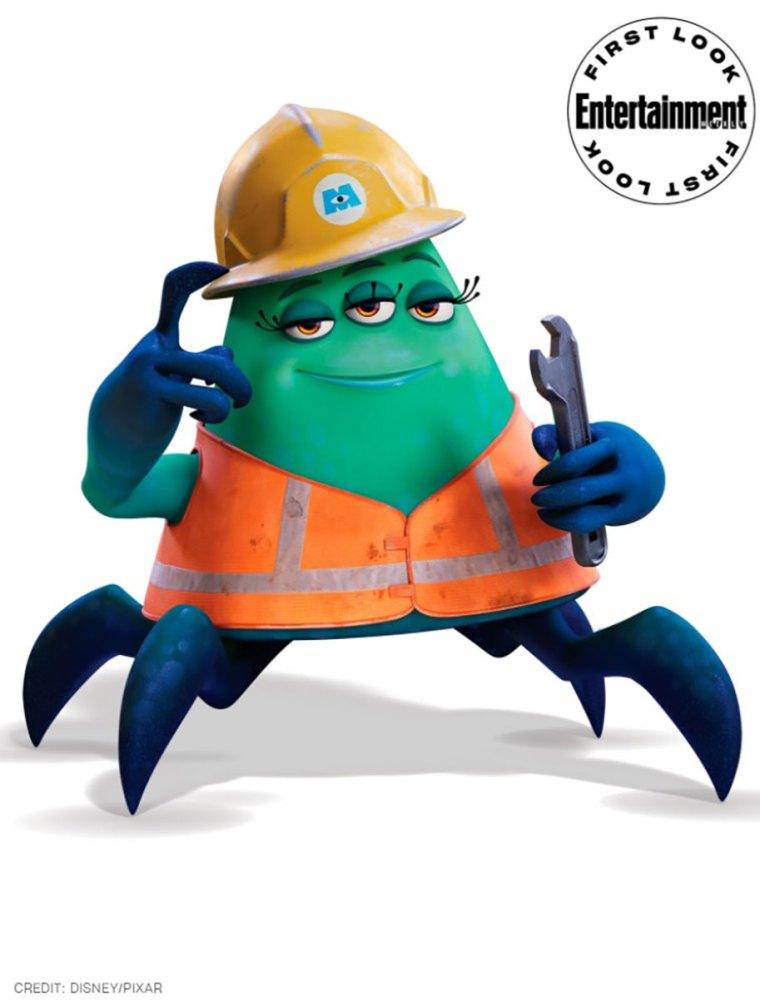 monsters at work cutter disney series 2021