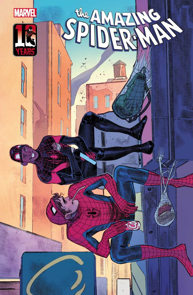 MILES MORALES 10TH ANNIVERSARY COVERS