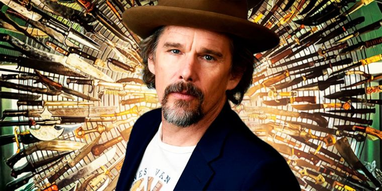 Ethan Hawke knives out 2