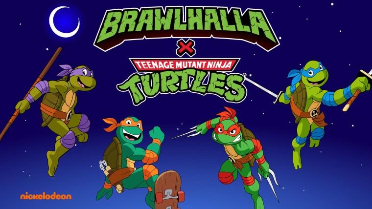 Teenage Mutant Ninja Turtles Brawlhalla Crossover