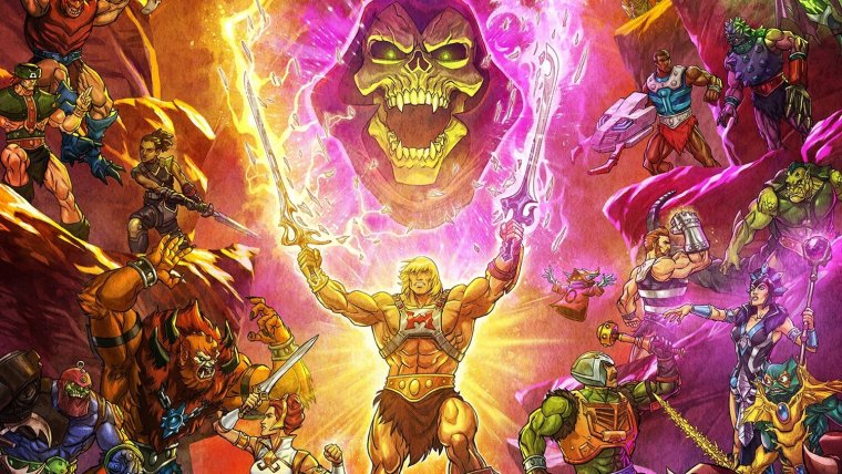New Poster Art for MASTERS OF THE UNIVERSE REVELATION
