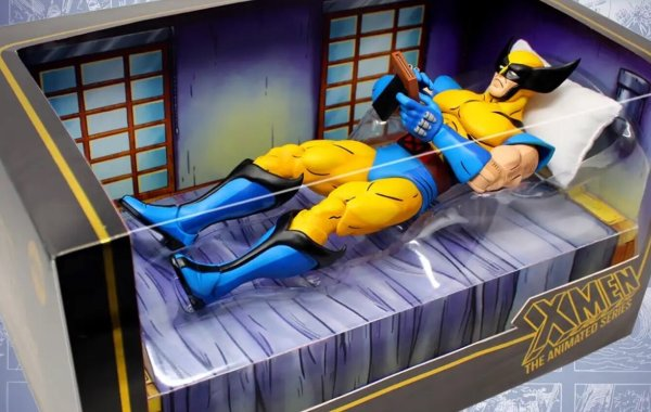 mondo reveals a 1 6 scale sad wolverine action figure from x men the animated series