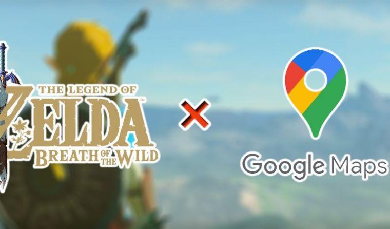 Zelda Fan Creates a Google Maps-Esque Website for Breath of Wild