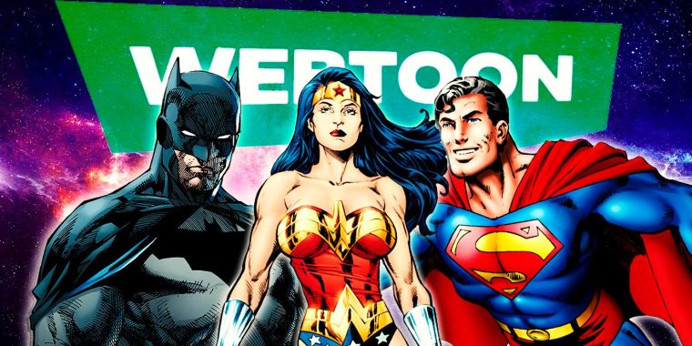DC Announces Partnership with WEBTOON