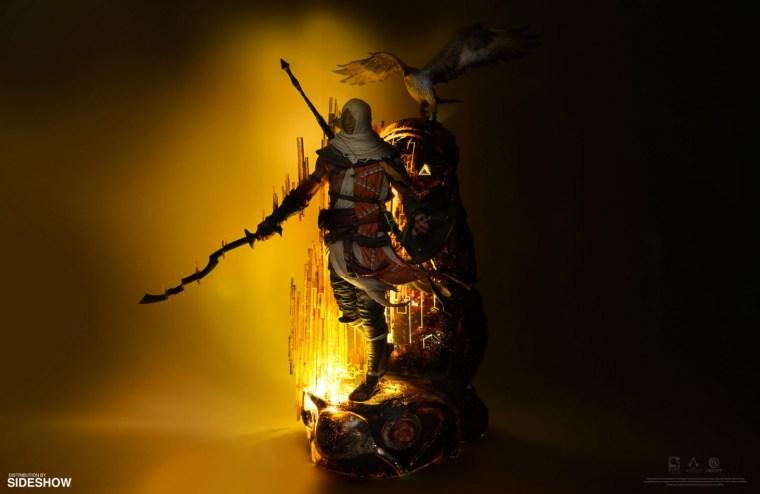 A 27-Inch Statue Of Bayek Of Siwa