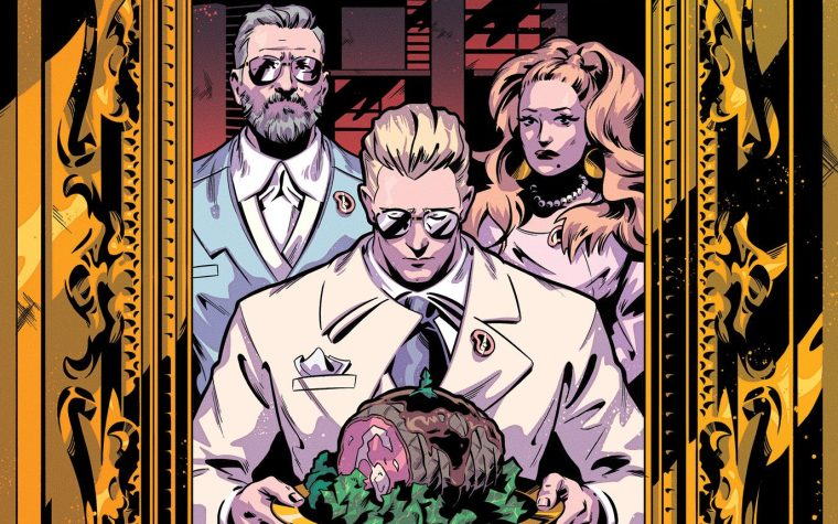 EAT THE RICH #1 Sells Out and Returns for a Second Printing