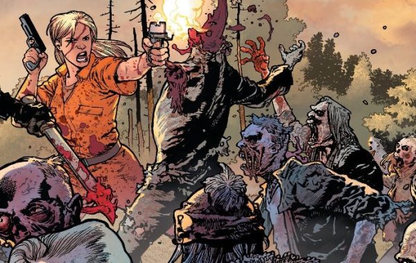 MEET THE GOVERNOR IN NEWTHE WALKING DEAD DELUXECONNECTING VARIANT COVERS