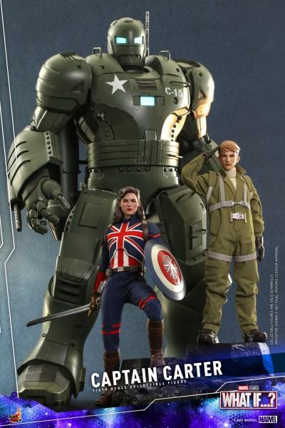 hot toys captain carter 007