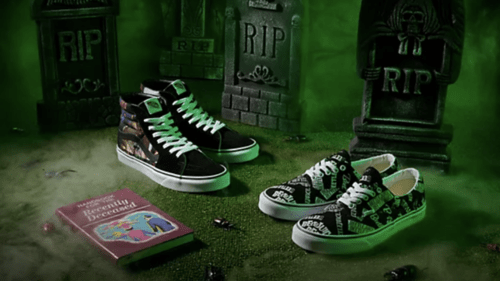 Vans Reveals More Collaborations To Their Line Of Horror Movie Themed Shoes Including BEETLEJUICE!