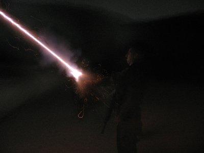 Hagay fires illumination bomb - retouchedׁ