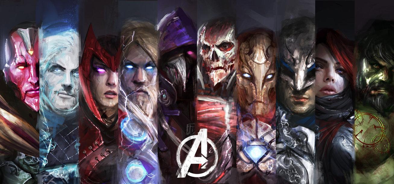 Gli Avenger in chiave Dark Fantasy