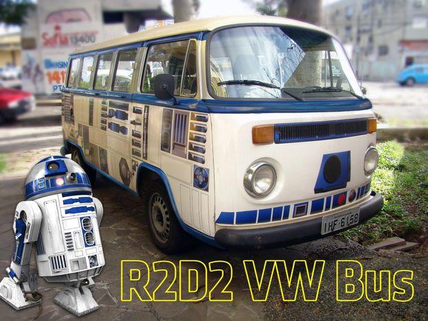 Il pulmino della Volkswagen di R2-D2