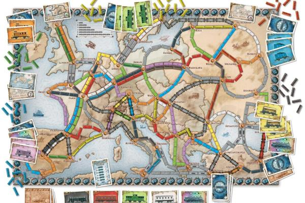 Lo spacciagiochi: Ticket to Ride Europa