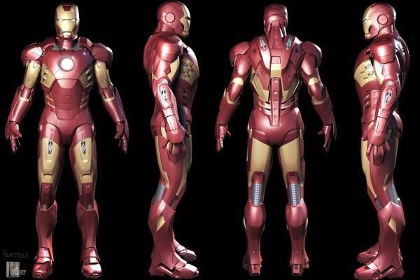Le evoluzioni dell'armatura di Iron Man