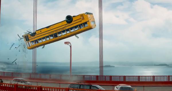 Terminator Genisys, ecco come si è capovolto l'autobus