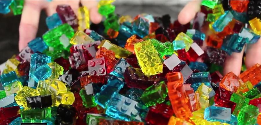Lego: come realizzare le caramelle gommose