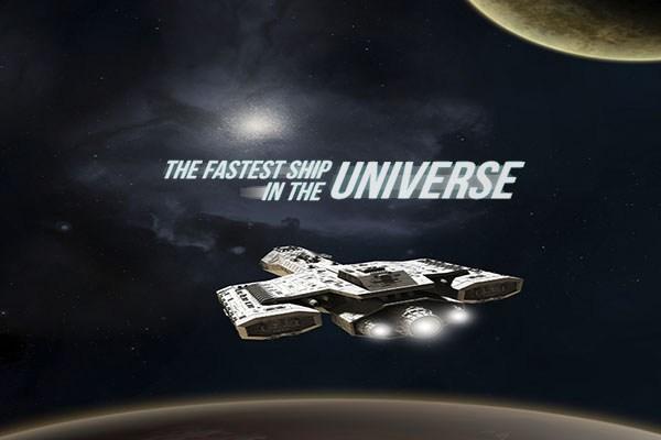Infografica: La nave più veloce dell'universo