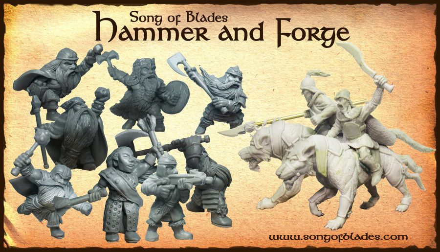 L'intervista: Andrea Sfiligoi e Song of Blades: Hammer and Forge su Kickstarter