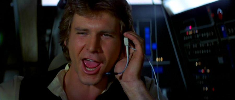 Star Wars: il trailer de Il risveglio della Forza visto da Han Solo