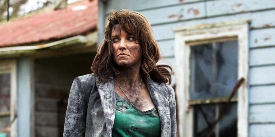 Lucy Lawless in Ash vs. Evil Dead