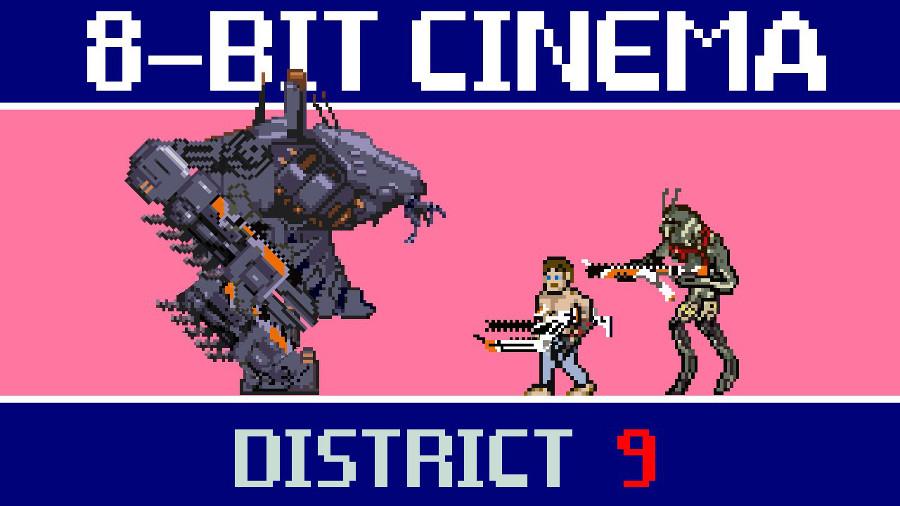 District 9 a 8 bit