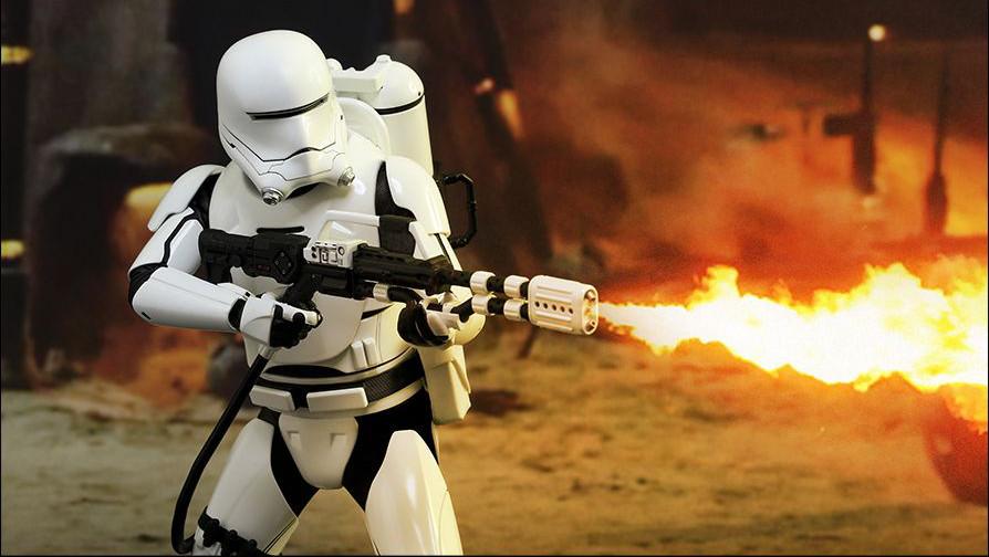 Star Wars: arrivano i flametrooper de Il risveglio della Forza