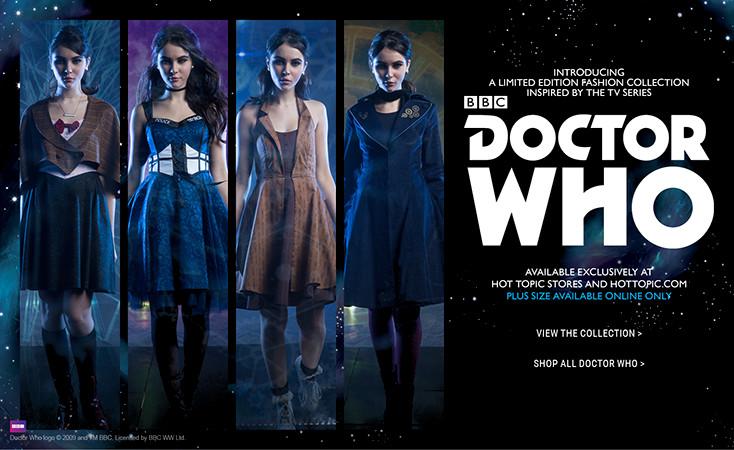 Doctor Who: la linea di abbigliamento per lei