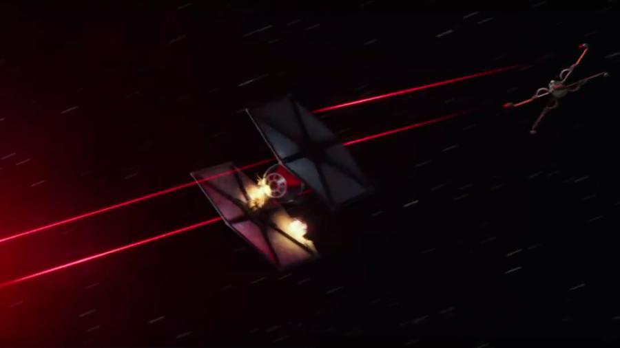 Star Wars: lo spot di Jeep con l'X-Wing di Poe Dameron contro i caccia TIE!