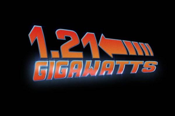 Ritorno al futuro: 1.21 Gigawatts