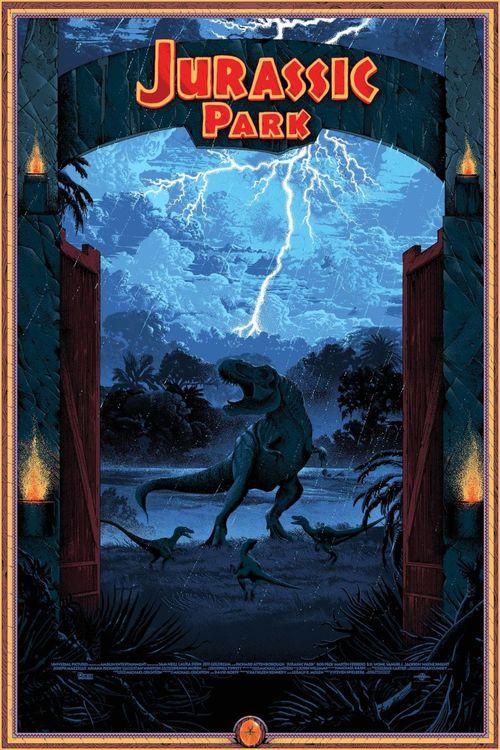 Jurassic Park poster 011