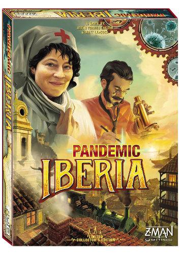 Pandemic Iberia scatola