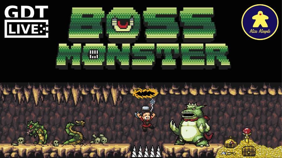 GDT Live + Miss Meeple – Boss Monster