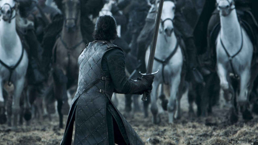 Jon Snow come Leeroy Jenkins