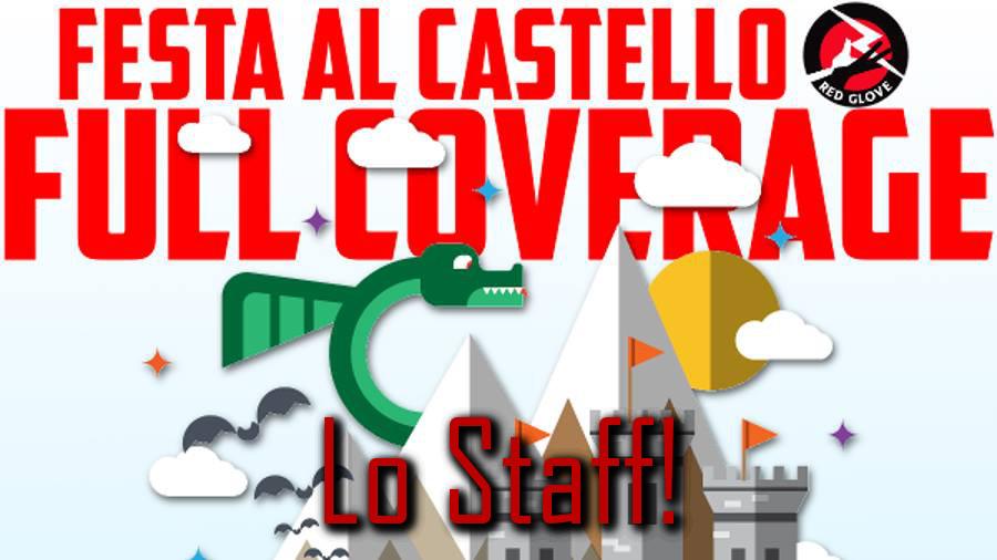 GDT Live @ festa al castello Red Glove 2016: lo staff