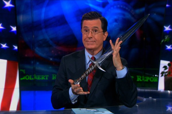 Stephen Colbert e le domande su Il Signore degli Anelli