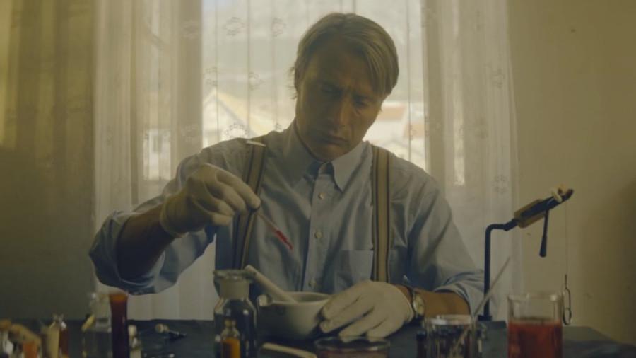 Il corto: Le Fantôme (con Mads Mikkelsen, diretto da Jake Scott)