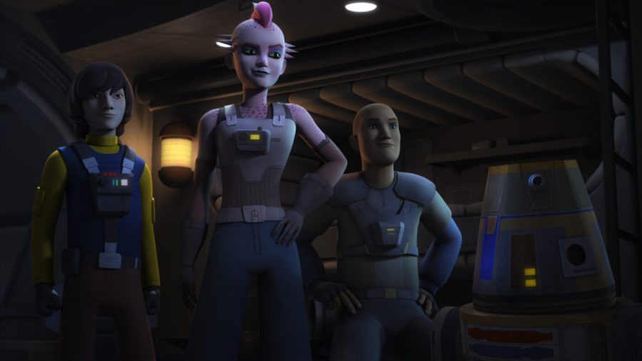 Star Wars Rebels 3×07, la recensione
