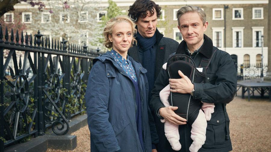 Il tema di Sherlock al violino, in attesa del finale (Di stagione? Di serie?)