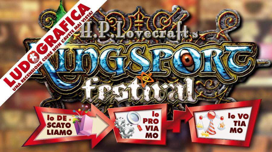 Ludografica: Kingsport Festival