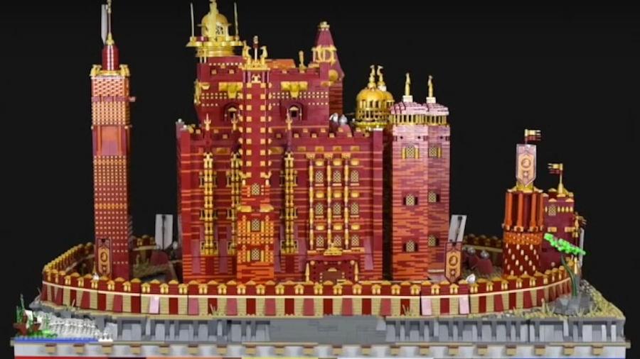 Game of Thrones: una versione di Lego della Fortezza Rossa